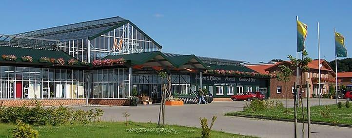 Außenansicht Pflanzen-Center Mühlenbeck